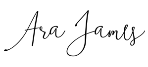 Ara James signature logo